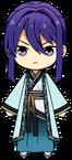 Souma Kanzaki Feng Shui Master Outfit chibi