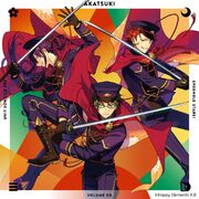 AKATSUKI Unit Song CD 3