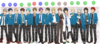 Character Height Comparison 2