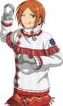 (Snowball Fight) Hinata Aoi Full Render Bloomed