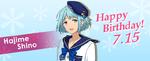 Happy Birthday Hajime Shino 2016