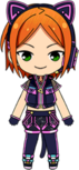 Hinata Aoi Live Party Outfit chibi