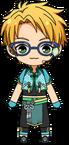 Makoto Yuuki Tanabata Outfit chibi