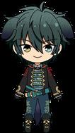Mika Kagehira Date Masamune Outfit chibi