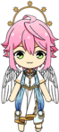 Tori Himemiya Angel Outfit chibi