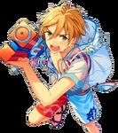 (Splash Attack) Tomoya Mashiro Full Render Bloomed