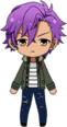 Adonis Otogari Casual Winter chibi