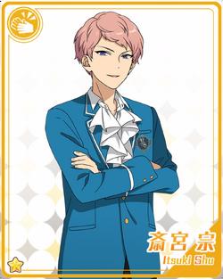 Shu Itsuki (Card) Bloomed