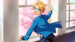 (Dancing Sakura Petals) Makoto Yuuki CG