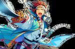 (Akatsuki's Ogre) Kuro Kiryu Full Render Bloomed