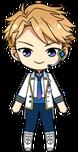 Arashi Narukami ES Idol Uniform chibi