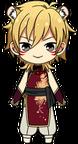 Kaoru Hakaze Zodiac Tiger Outfit chibi