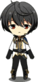 Ritsu Sakuma Knights Return uniform chibi