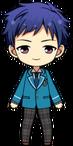 Yuzuru Fushimi Student Uniform chibi