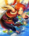 (Orange Rising Dragon) Hinata Aoi Frameless Bloomed