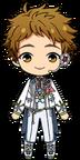 Mitsuru Tenma Happy Spring chibi