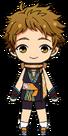 Mitsuru Tenma Ninja chibi