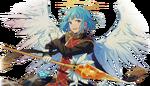 (Angel and Singing Voice) Hajime Shino Full Render Bloomed