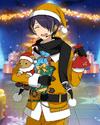 (Yellow Santa) Shinobu Sengoku Frameless Bloomed