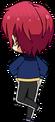 Tsukasa Suou ES Knights Practice chibi back