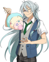 (Sea Breeze and Cotton Candy) Wataru Hibiki Full Render Bloomed