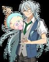 (Sea Breeze and Cotton Candy) Wataru Hibiki Full Render Bloomed
