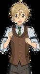 (Successor of the Legend) Tomoya Mashiro Full Render