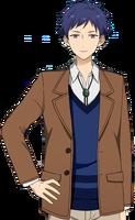 Yuzuru Fushimi Casual Winter Dialogue Render
