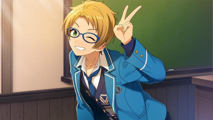 (Cheerful Glasses Boy) Makoto Yuuki CG