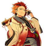 (New Year's Fighting Spirit) Kuro Kiryu Full Render Bloomed