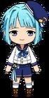 Hajime Shino Rabits uniform chibi