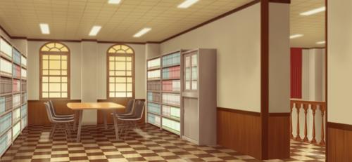 Yumenosaki Academy Reference Room Full