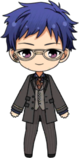 Yuzuru Fushimi Workplace Survival Rules chibi