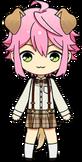 Tori Himemiya Golden Retriever chibi