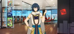 Tsumugi Aoba Thief Outfit