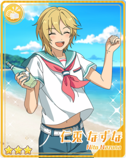 (Honey-Colored Splash) Nazuna Nito Bloomed