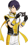 (Yellow of Hope) Shinobu Sengoku Full Render