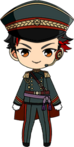 Tetora Nagumo Night Watch Uniform chibi