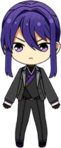 Souma Kanzaki Onigashima Outfit chibi
