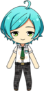 Kanata Shinkai Summer Uniform (Wet) chibi
