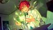 (Red-Haired Onryo) Natsume Sakasaki CG