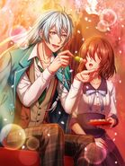 100yume collaboration Wataru Story2