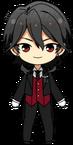 Rei Sakuma Butler Uniform chibi