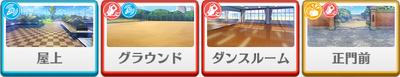 Valkyrie lesson Shu Itsuki locations