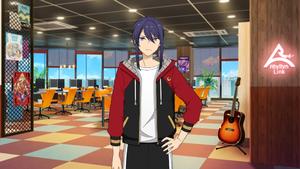 Souma Kanzaki ES AKATSUKI Practice Outfit