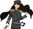 (Sword Backup) Chiaki Morisawa Full Render Bloomed