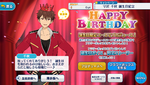 Chiaki Morisawa Birthday 2019 Campaign