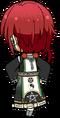Natsume Sakasaki Fortune Banquet Outfit chibi back