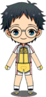 Sakamichi Onoda Biking Outfit chibi
