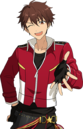 (Passionate Red) Chiaki Morisawa Full Render Bloomed